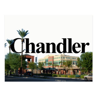 Krämer-Arizona-Skyline mit Krämer im Himmel Postkarte