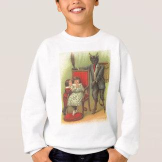 Krampus, das für schlechte Kinder kommt Sweatshirt