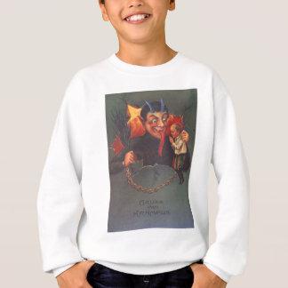 Krampus, das Kind bestraft Sweatshirt