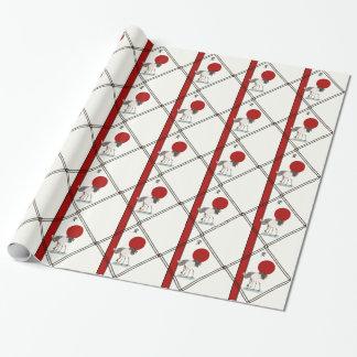 Kräne und Ruhe Einpackpapier