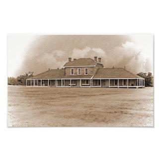 Krankenhaus an ft. Richardson Texas Fotodruck