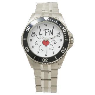 Krankenpflege Krankenschwestern RN LPN Uhr