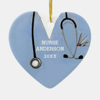 Krankenpflege-SchulAbschluss Keramik Ornament