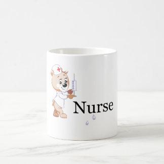 Krankenschwester-Bär Kaffeetasse
