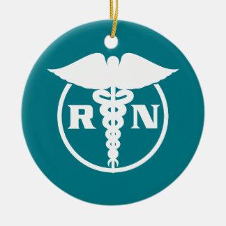 Krankenschwester-Emblem Keramik Ornament