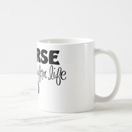 Krankenschwester für das Leben Kaffeetasse