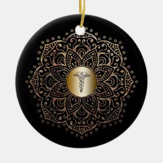 Krankenschwester-Geschenk RN LPN medizinisches Keramik Ornament