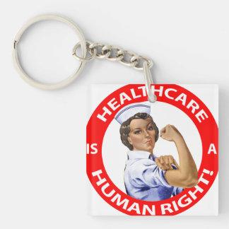 """Krankenschwester """"Rosie"""" sagt, dass Schlüsselanhänger"""