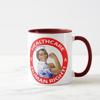 """Krankenschwester """"Rosie"""" sagt, dass Tasse"""