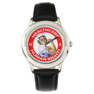 """Krankenschwester """"Rosie"""" sagt, dass Uhr"""