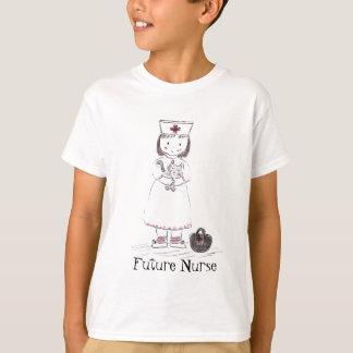 Krankenschwester und Kätzchen T-Shirt