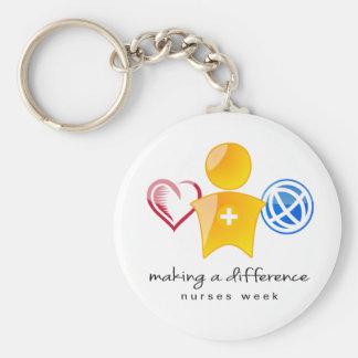 Krankenschwester-Woche Keychain Schlüsselanhänger