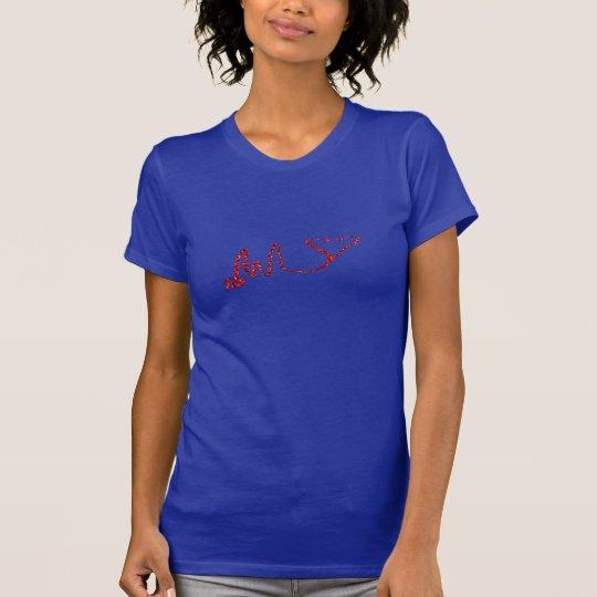 Krankenschwestern haben eine heilende Touch T-Shirt