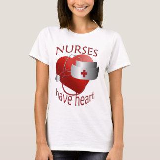 Krankenschwestern haben Herz-Krankenschwester-T - T-Shirt