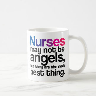 Krankenschwestern können möglicherweise nicht kaffeetasse