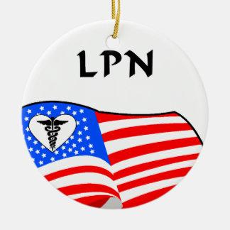 Krankenschwestern RN LPN Keramik Ornament