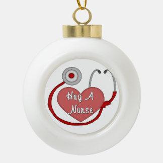 Krankenschwestern RN und LPN Keramik Kugel-Ornament