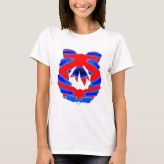 Kranz-Girlanden-Diamant-Muster T-Shirt