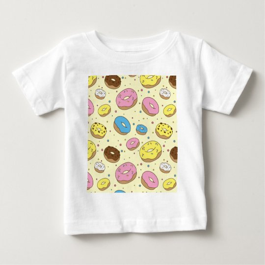 Krapfen-Cartoon Baby T-shirt