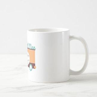 Krapfen-Mann Kaffeetasse