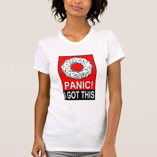 Krapfen-Panik erhielt ich diesen T - Shirt