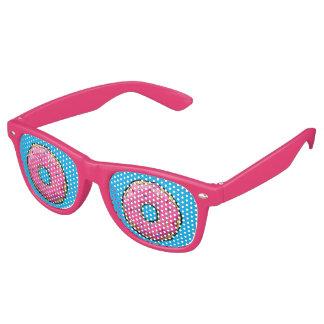 Krapfen-Party-Gläser Flugleitanlage rosa Sonnenbrille
