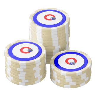 Kräuselnfelsen Poker Chips Sets
