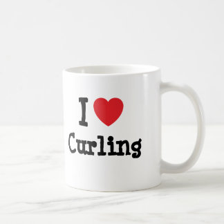 Kräuselnherzgewohnheit der Liebe I personalisiert Kaffeetasse