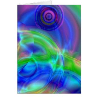 Kräuselungen in der Farbenreinheit Karte