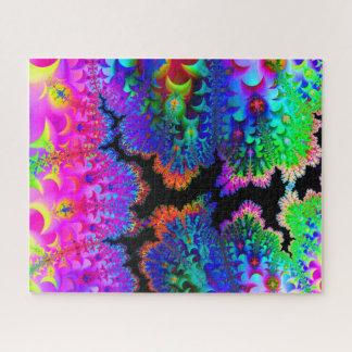 Krawatten-Fraktal-Kunst-Standardgrößen-Puzzlespiel