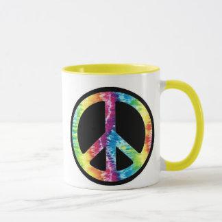 Krawatten-Friedenszeichen-Tasse Tasse