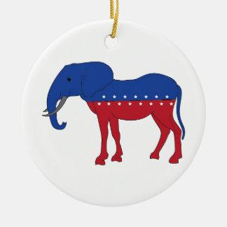 Kreative Demokratie: Ein neues Tier Rundes Keramik Ornament