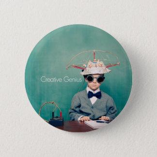 Kreative Genie-Entwürfe Runder Button 5,1 Cm