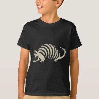 Kreative Gürteltier-Illustration T-Shirt