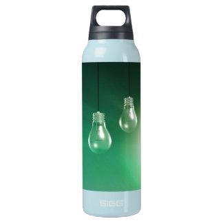Kreative Innovation und glühendes Konzept als Isolierte Flasche