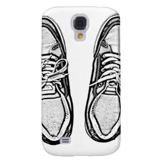 Kreative Kunst beschuht Galaxy S4 Hülle