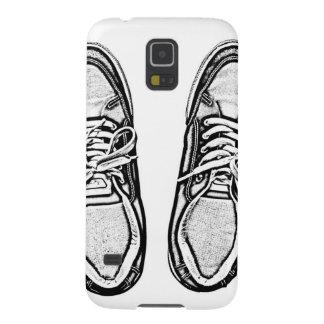 Kreative Kunst beschuht Galaxy S5 Cover