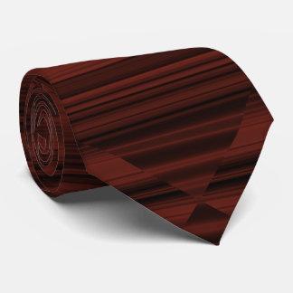 Kreatives ursprüngliches stilvolles rötlich bedruckte krawatten
