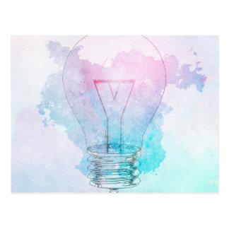 Kreativitäts-und Geschäfts-Innovation als Konzept Postkarte
