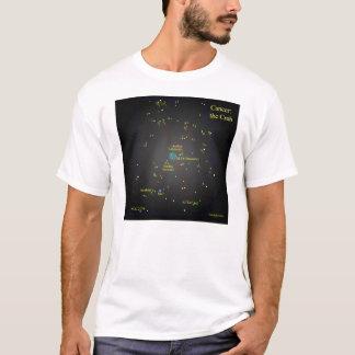 Krebs die Krabben-Konstellation T-Shirt