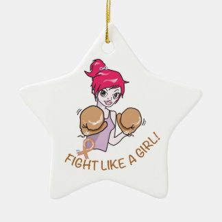 KREBS FIGHT-CHILDHOOD KERAMIK ORNAMENT