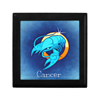 Krebs Schmuckschachtel