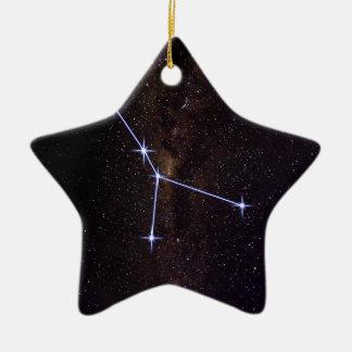 Krebs-Stern-Zeichen Keramik Ornament