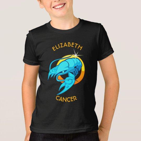 Krebs-Tierkreis-Geburtstags-Zeichen mit Ihrem T-Shirt