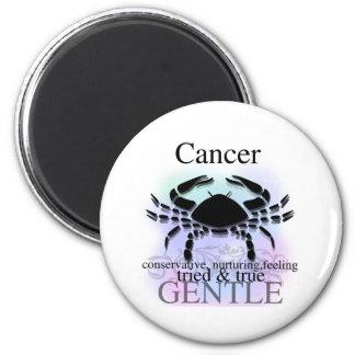 Krebs über Sie Runder Magnet 5,7 Cm