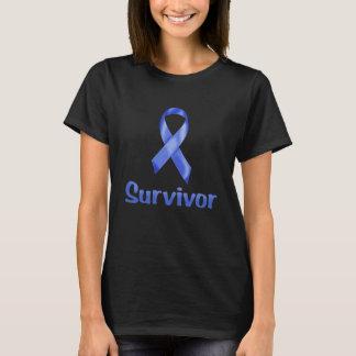 Krebs-Überlebend-Marine T-Shirt