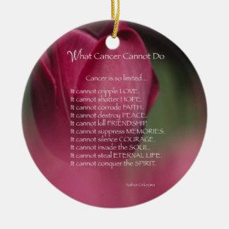 Krebs-Unterstützung, welcher Krebs nicht tun kann, Keramik Ornament
