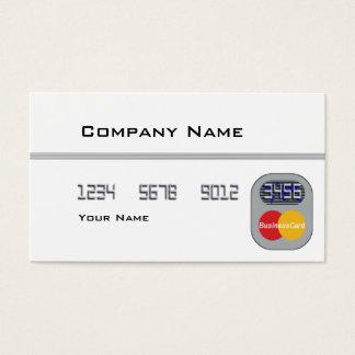 Kreditkarte (freier Raum) Visitenkarte
