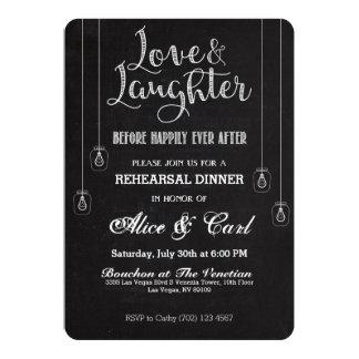 Kreide-Art-Proben-Abendessen-Einladung 02 12,7 X 17,8 Cm Einladungskarte