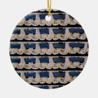 Kreis Argento Keramik Ornament